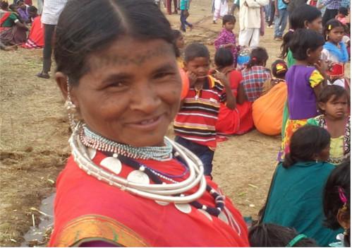 Baiga Tribe of Chhattisgarh at the weekly market