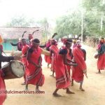 Muria tribal group dance, near kondagaon, chhatisgarh
